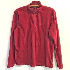 North Face 1/2 Zip Fleece Jacket Mens Medium